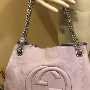 Gucci Bags - Authentic! GUCCI Soho Pink Chain Shoulder Bag